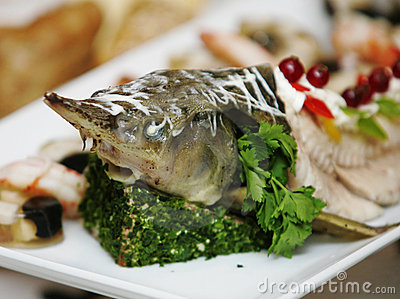 Delicacy from fish