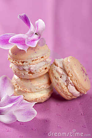 Delicate macarons