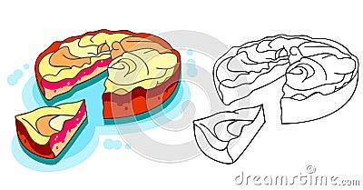 A delicious  apple pie