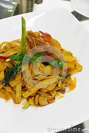 Delicious asian dish