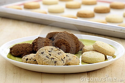 Delicious assorted cookies