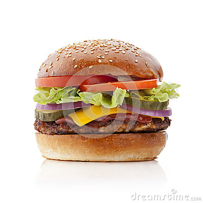Free Delicious Burger Royalty Free Stock Image - 51919386
