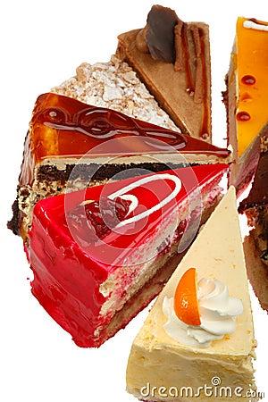 Delicious Cake Slices