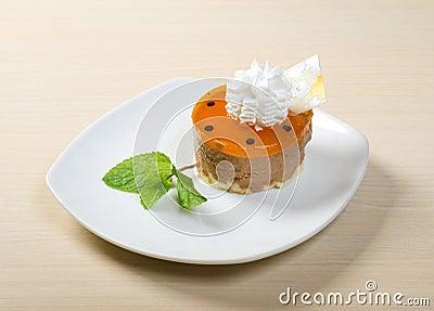 Delicious cake .sweet dessert