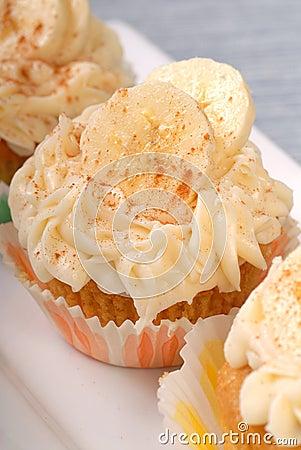 Delicious carrot cake cupcakes
