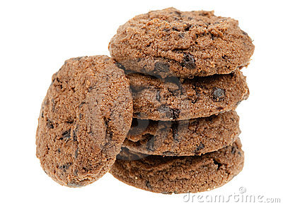 Delicious chocolate chip cookies