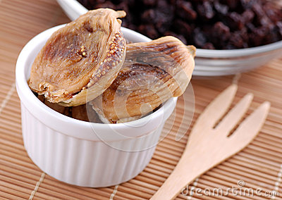 Delicious Dried Figs Royalty Free Stock Photos - Image: 25782018