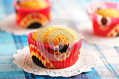 Delicious Homemade Muffins Stock Image - Image: 24755321