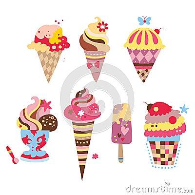 Delicious Ice Creams
