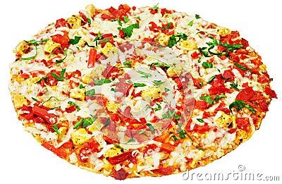 Delicious italien pizza