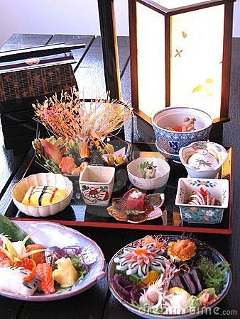 Delicious Japanese seafood
