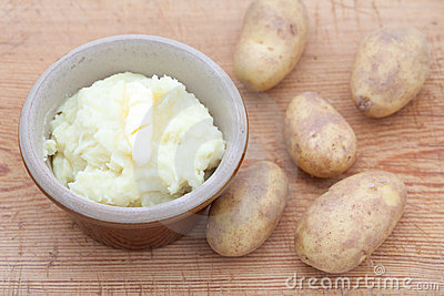 Delicious mashed potato