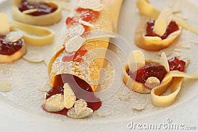 delicious pancake made for pancake day