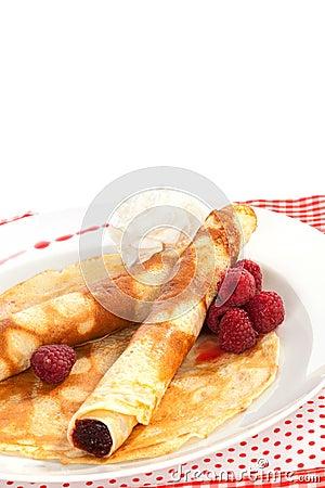 Delicious pancakes.