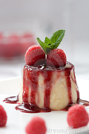 Free Delicious Panna Cotta Dessert Royalty Free Stock Photography - 2936057