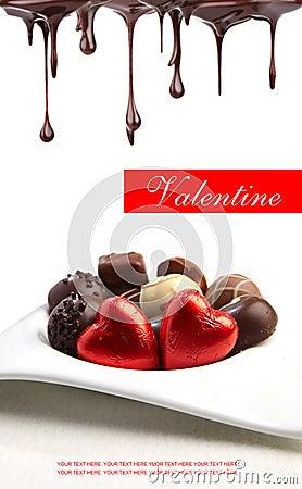 Delicious pralines - sweet food