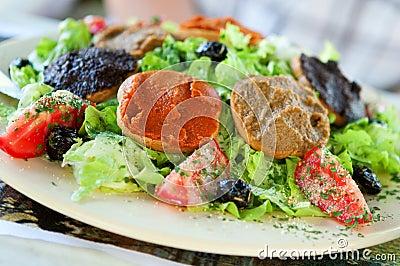 Delicious Provencal salad