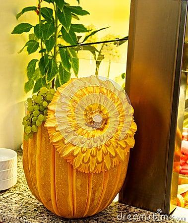 Delicious pumpkin.