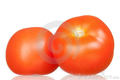 Delicious red tomatoes