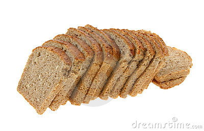 Delicious sliced dark bread #2