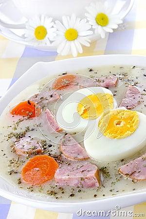 Delicious sour soup