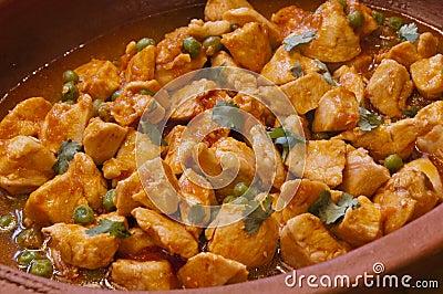 Delicious Spanish chicken casserole