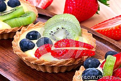 Delicious tart dessert