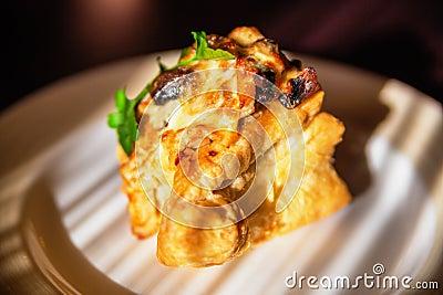 Delicious tartlet