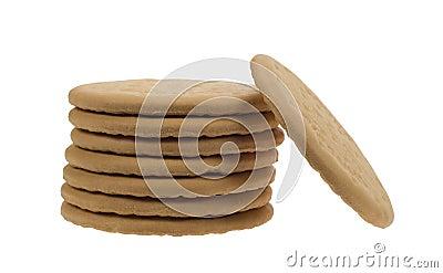 Delicious tea biscuits