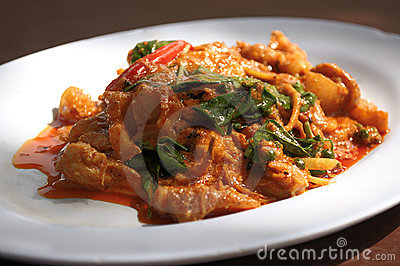 delicious thai food,Red curry