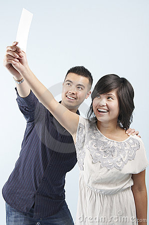 Free Delighted Couple Royalty Free Stock Photography - 13692097