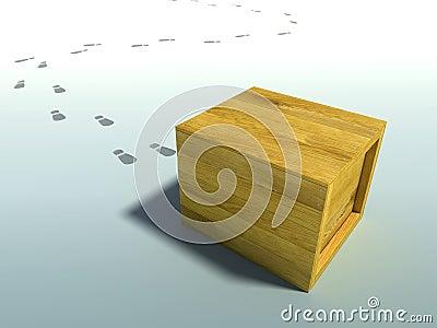 Delivered crate