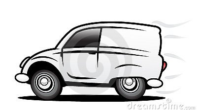 Delivery Car Royalty Free Stock Images - Image: 11824569