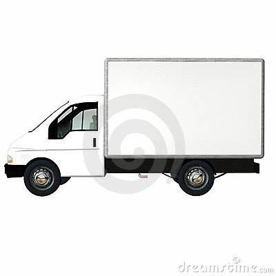 Delivery Cargo Truck 2