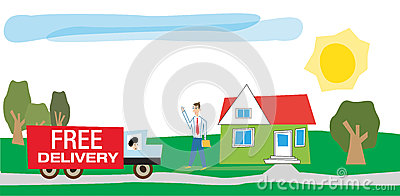 Delivery Of Goods Royalty Free Stock Photos Image 36649848