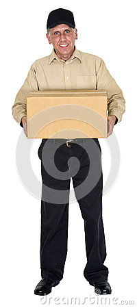 Free Delivery Man, Moving, Freight, Shipping, Package Royalty Free Stock Photos - 26635288
