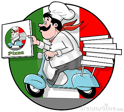 Delivery Pizza Chef