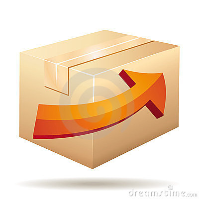 Delivery or transportation icon.