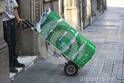 Delivery trolley