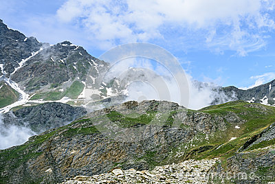 Dell Agnello de Colle, Alpes italiens