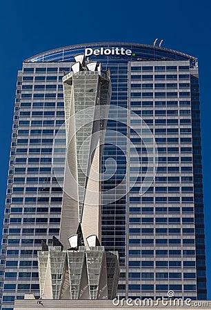 Deloitte Touche Tower Editorial Photo Image 59650411