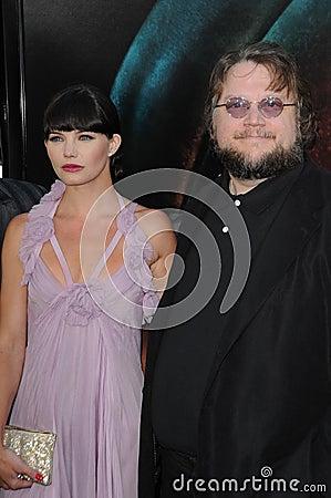 Delphine Chaneac,Guillermo Del Toro Editorial Stock Photo