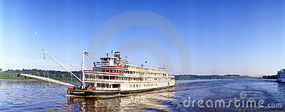 Delta Queen steamboat Editorial Stock Image