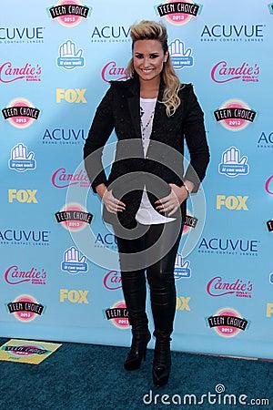 Demi Lovato Editorial Stock Photo