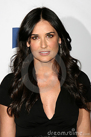 Demi Moore Editorial Stock Image