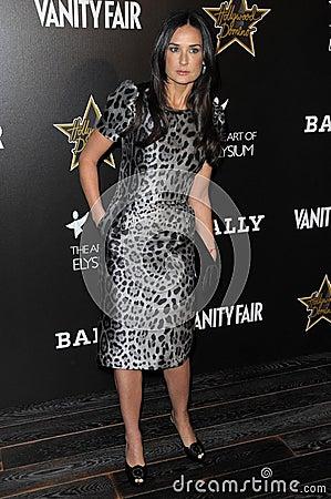 Demi Moore Editorial Stock Photo
