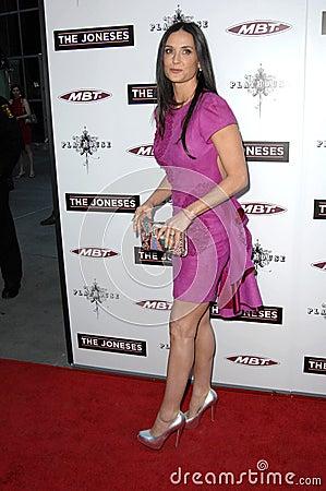 Demi Moore Editorial Image