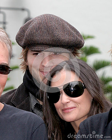 Demi Moore,Don Johnson,Ashton Kutcher,Billy Bob Thornton,Billy BOBS Thornton Editorial Photo
