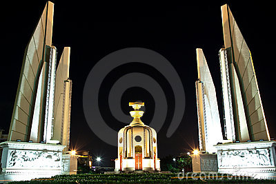 The democracy monument