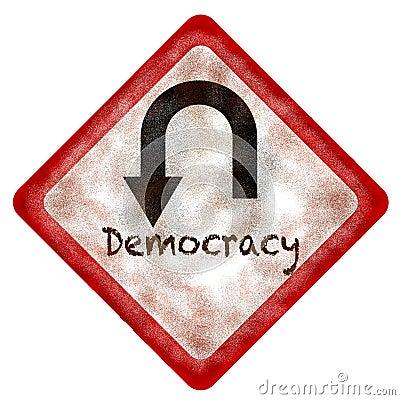 Democracy U-Turn
